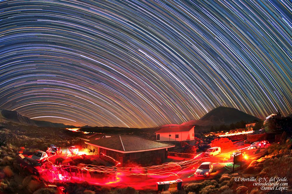El Cielo De Canarias Trazas Estelares El Portillo