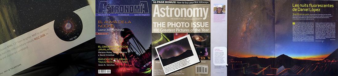 reviistas especializadas astronomia